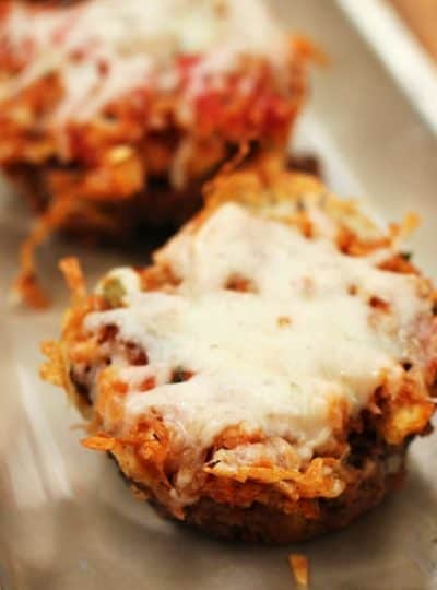 Bruschetta Meatloaf Cups {Guest Post from Julie's Eats and Treats}