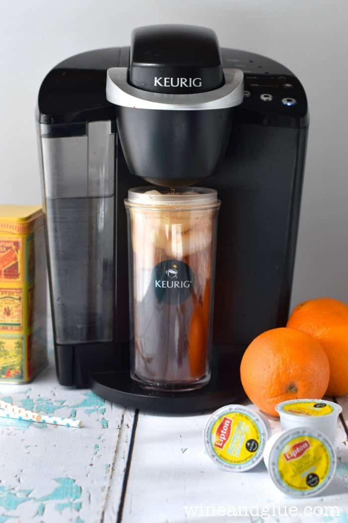 Lipton Tea K-Cups make it easy to have iced tea in minutes!