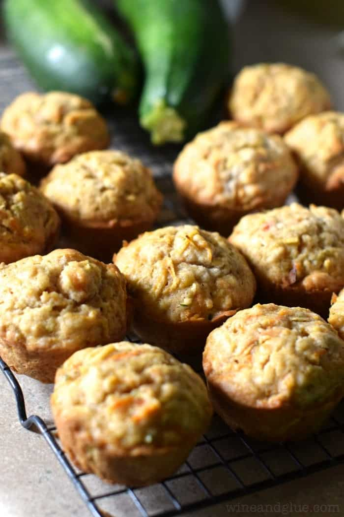 Apple Carrot Zucchini Muffins | The most delicious muffins with some sneaky vegetables on the side!