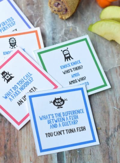 Printable Lunch Box Jokes
