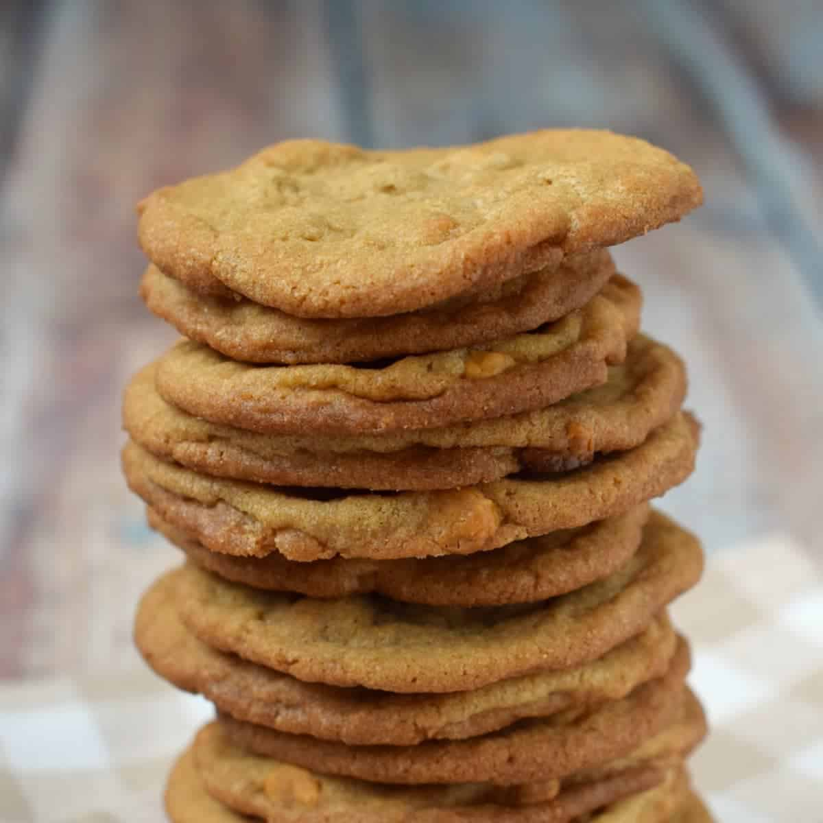 Cookie Butter Butterscotch Cookies & An Auction for a Good Cause