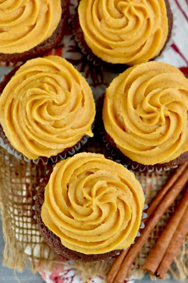 This Pumpkin Frosting Recipe has such a perfect pumpkin flavor, and would be amazing on a million different things!