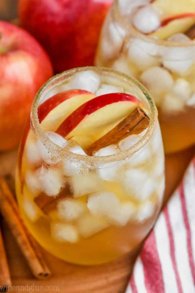 the best apple cider margarita