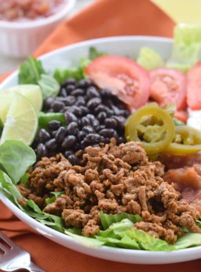 Healthy Taco Salad