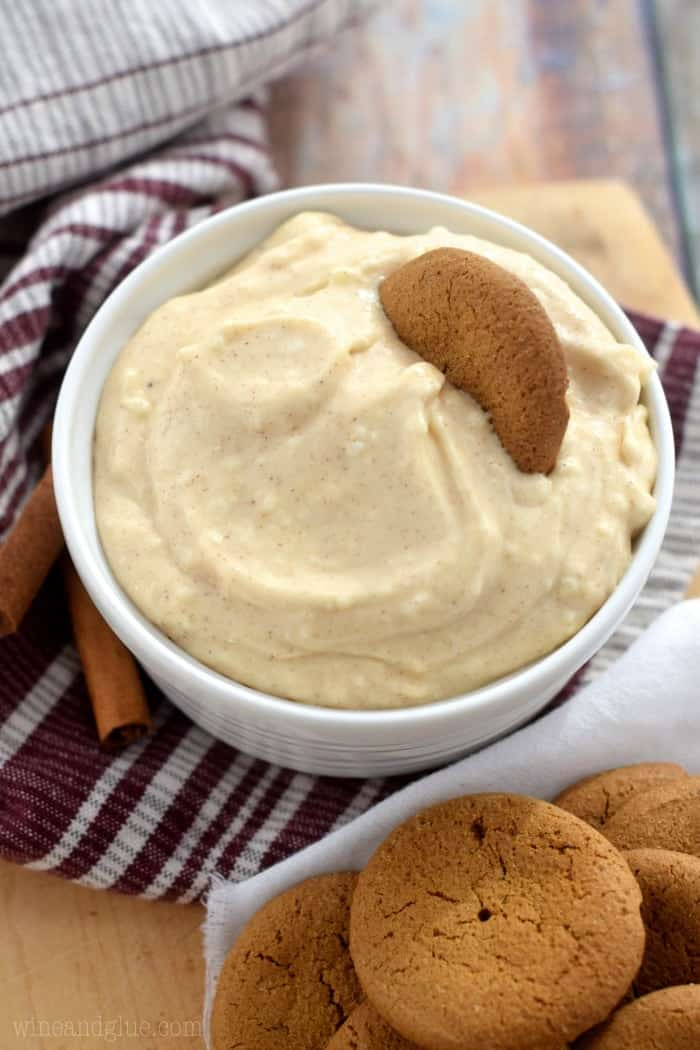 This Eggnog Dip, delicious and simple, comes together easily and is perfect for holiday parties!