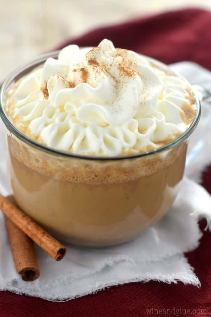 Skinny Eggnog Latte Recipe — Dishmaps