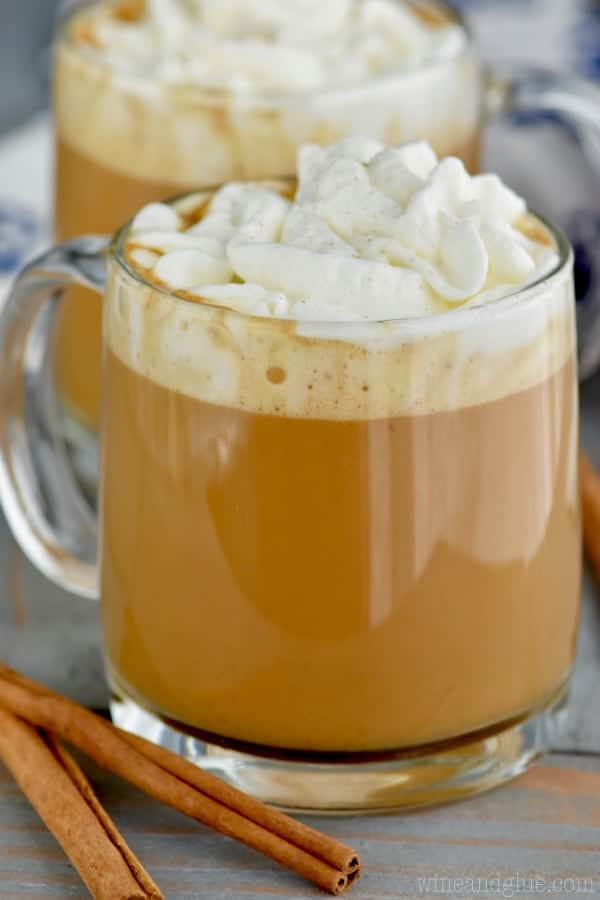 This Eggnog Latte is your favorite winter coffee drink at home.