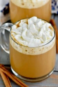 This Eggnog Latte is your favorite coffee shop drink at home!