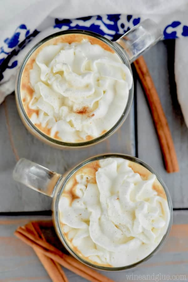 Did you know you can make an eggnog latte at home?