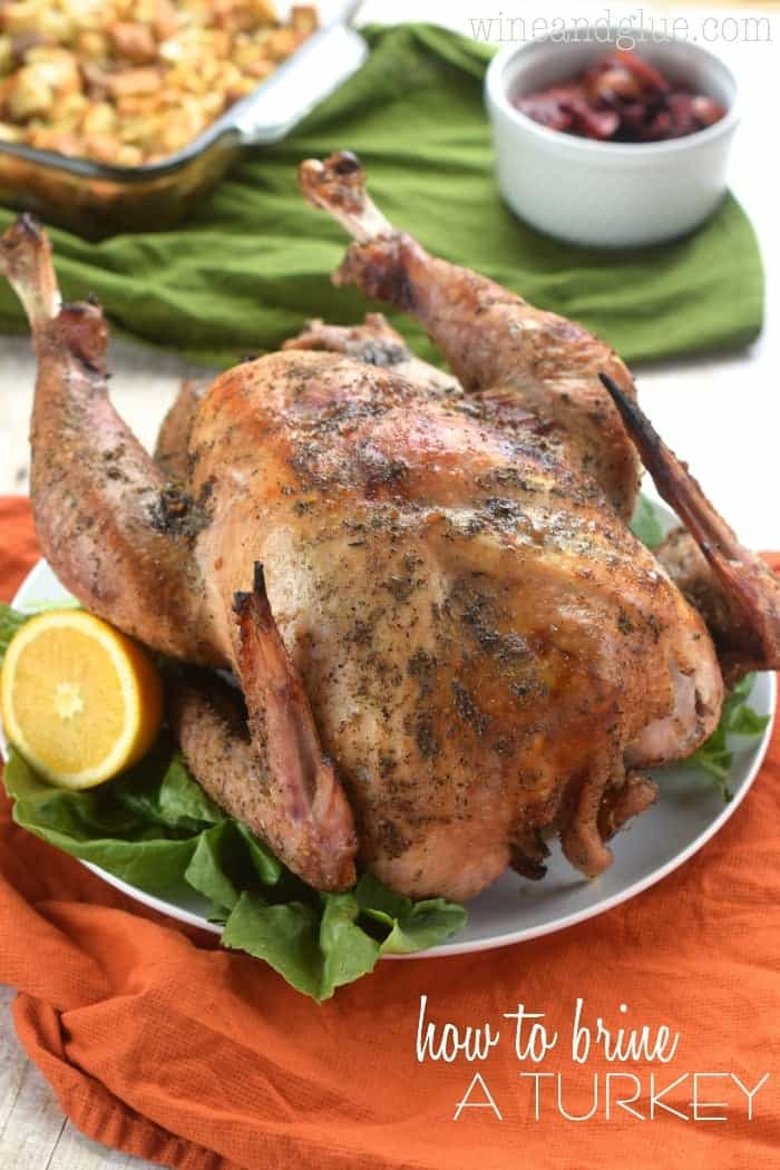 If making a roast turkey scares you, or it always comes out dry, then you need these instructions on how to brine a turkey!  You will never make it another way again!