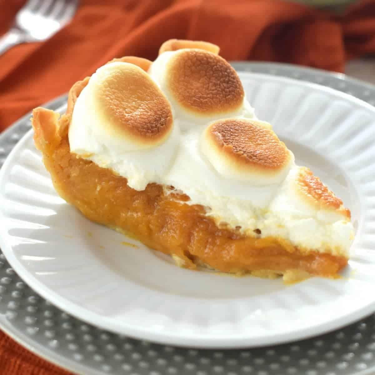 Sweet Potato Chess Pie
