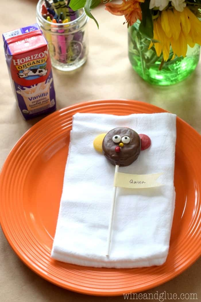 These Turkey Pop Placeholders are such a fun addition to your Thanksgiving table!