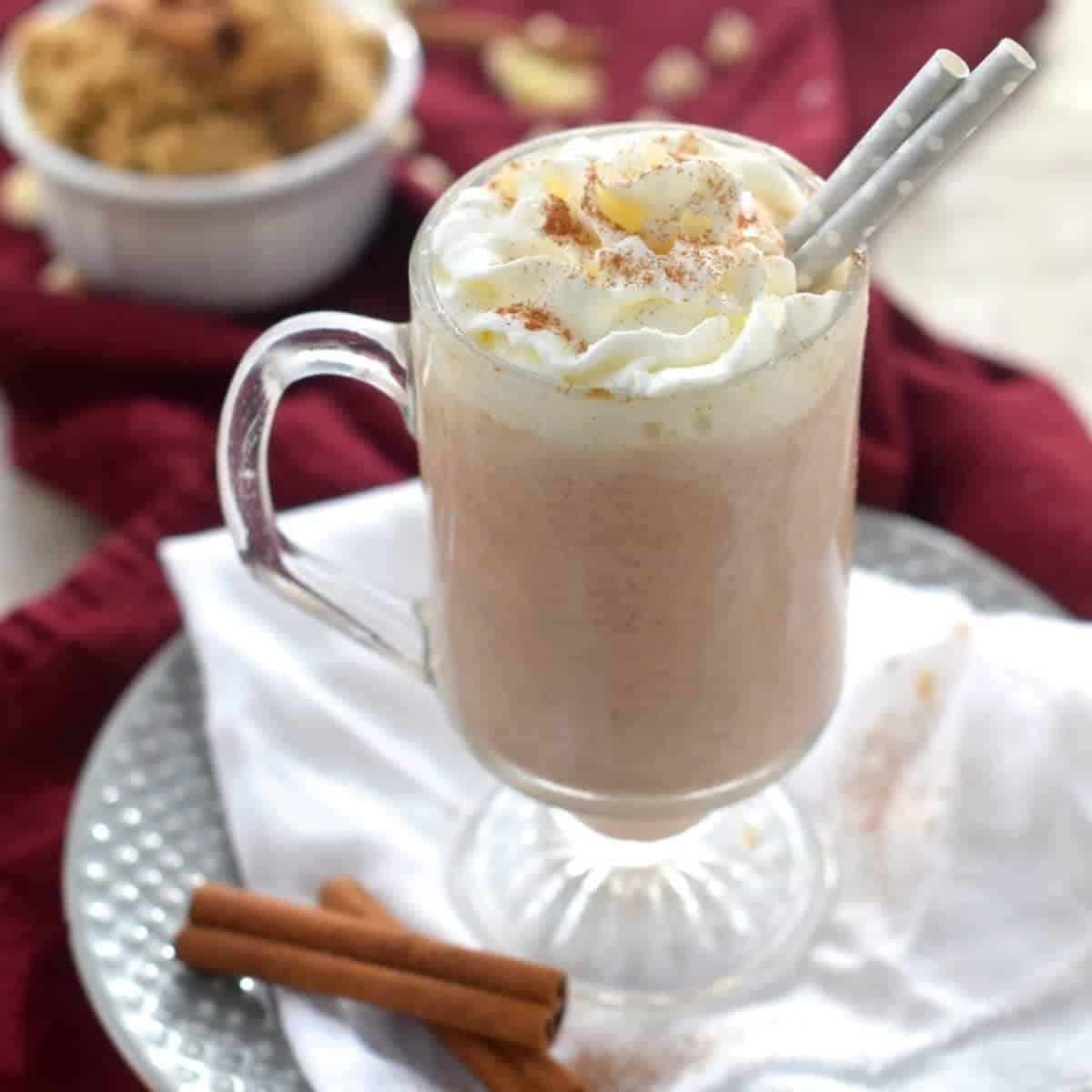 Cinnamon Roll Hot Cocoa