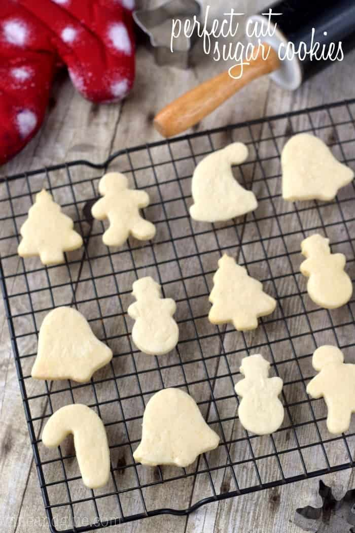 These Perfect Cut Sugar Cookies are soft, hold their shape, and are totally delicious!