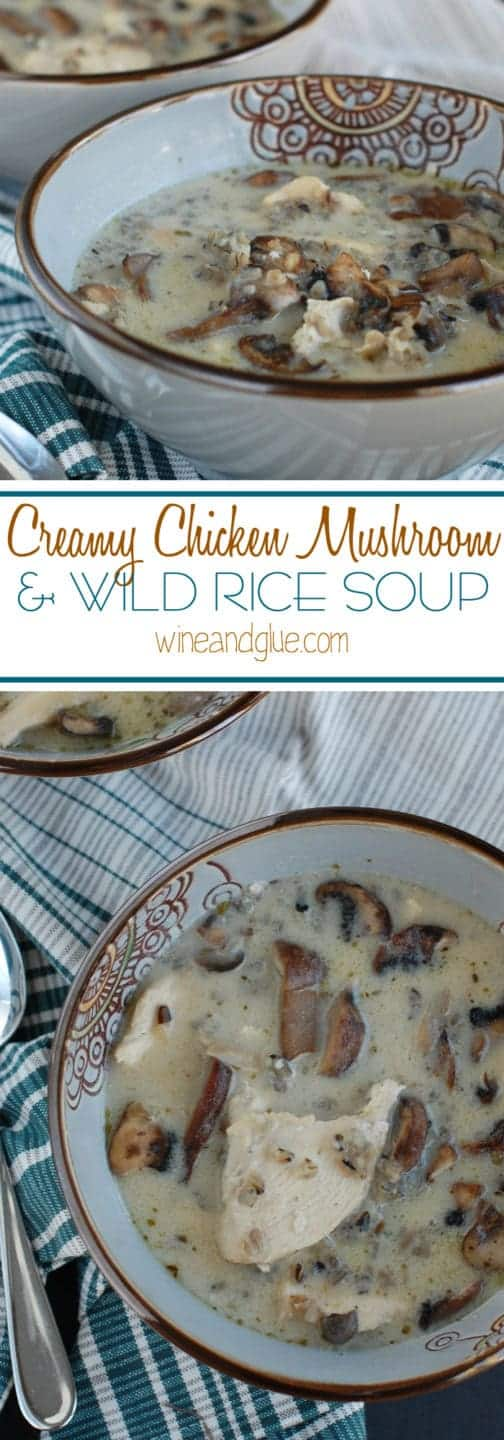 An earthy and hearty soup perfect for fall and winter