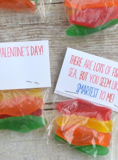 Fish Valentine {Free Printable}