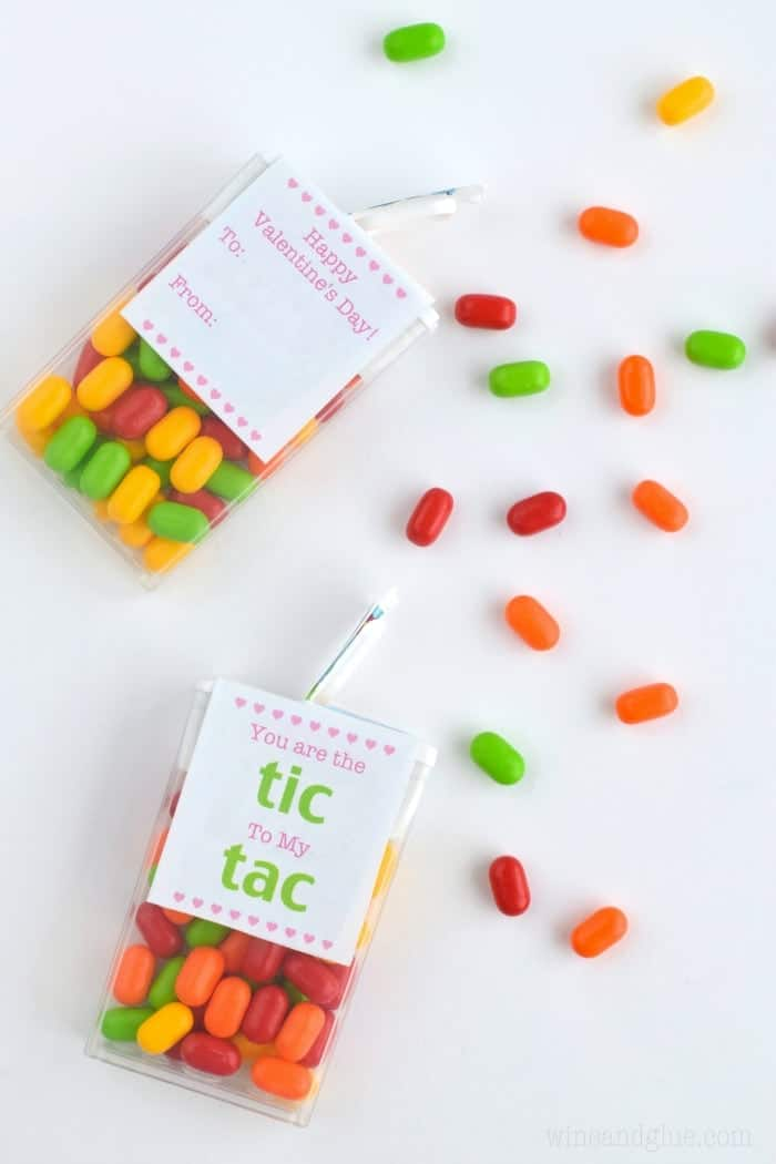 This Free Tic Tac Valentine Printable sheet make for an easy and super cute Valentine!