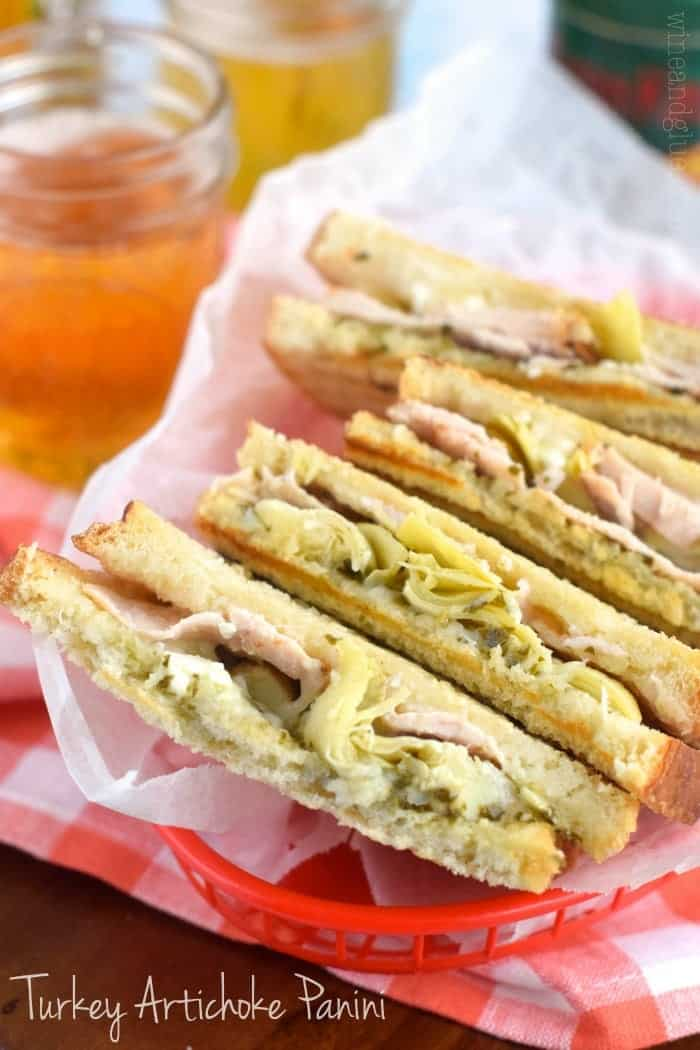 This Turkey Artichoke Panini is like your favorite cafe sandwich at home!