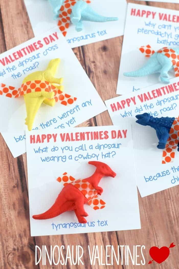 Schön A Cute Dinosaur Valentine That Comes Complete With A Funny Joke! What More  Could You