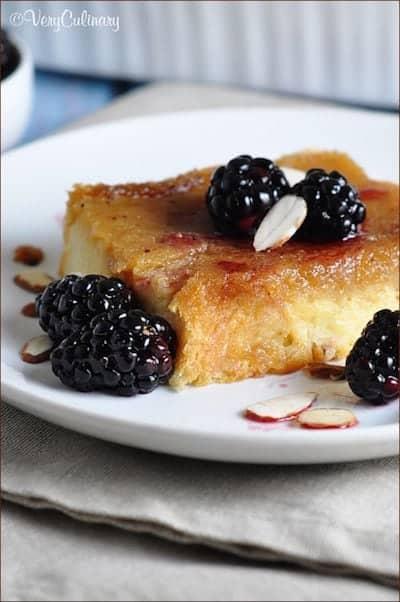 Amaretto Brioche Bake Casserole