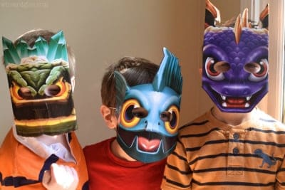 skylander_party_masks