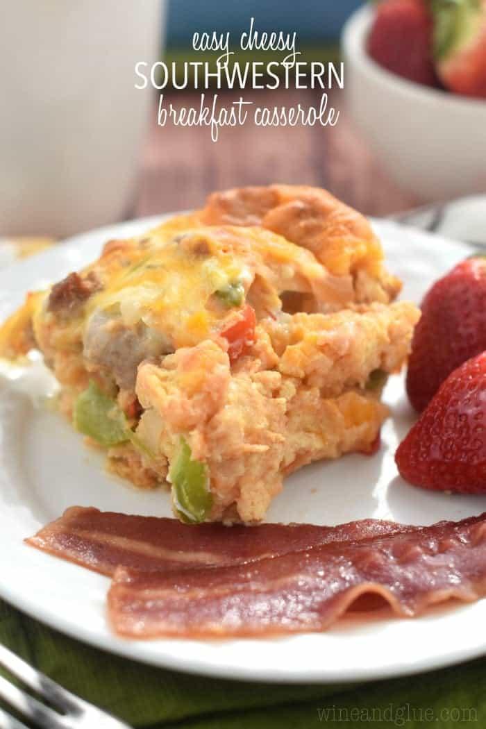 Easy Southwestern Breakfast Casserole