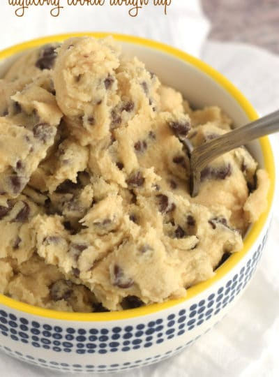 Tagalong Cookie Dough Dip