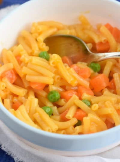 Three Minute Veggie Mac