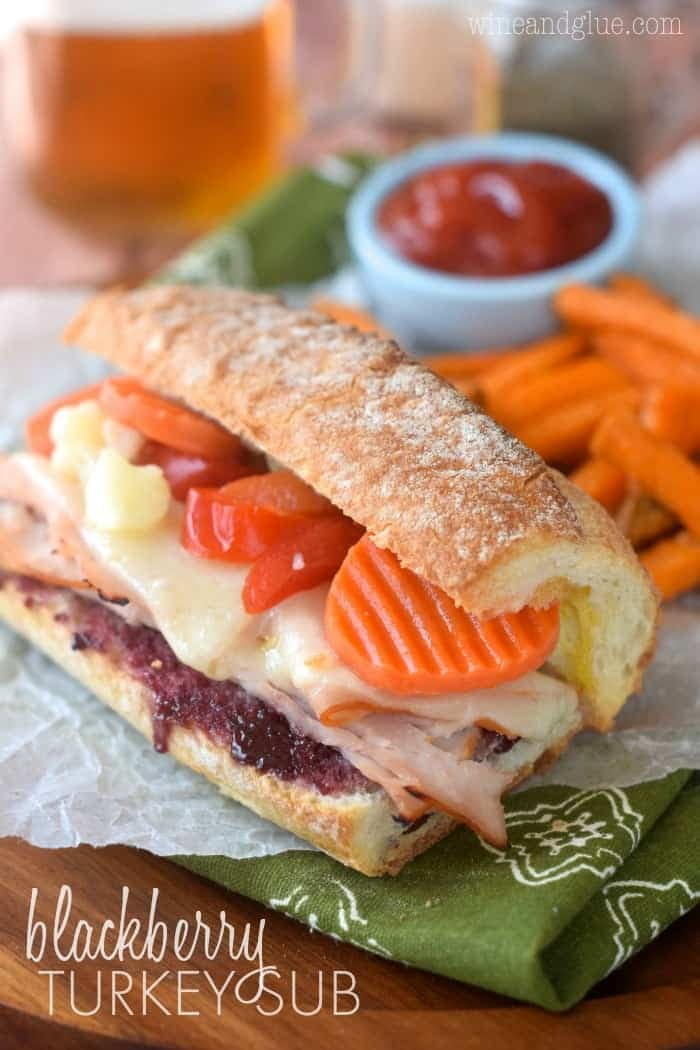Blackberry Turkey Sub