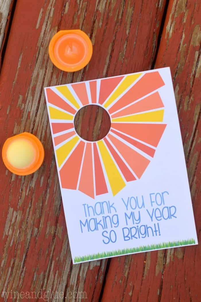 EOS Lip Balm Teacher Appreciation Printable