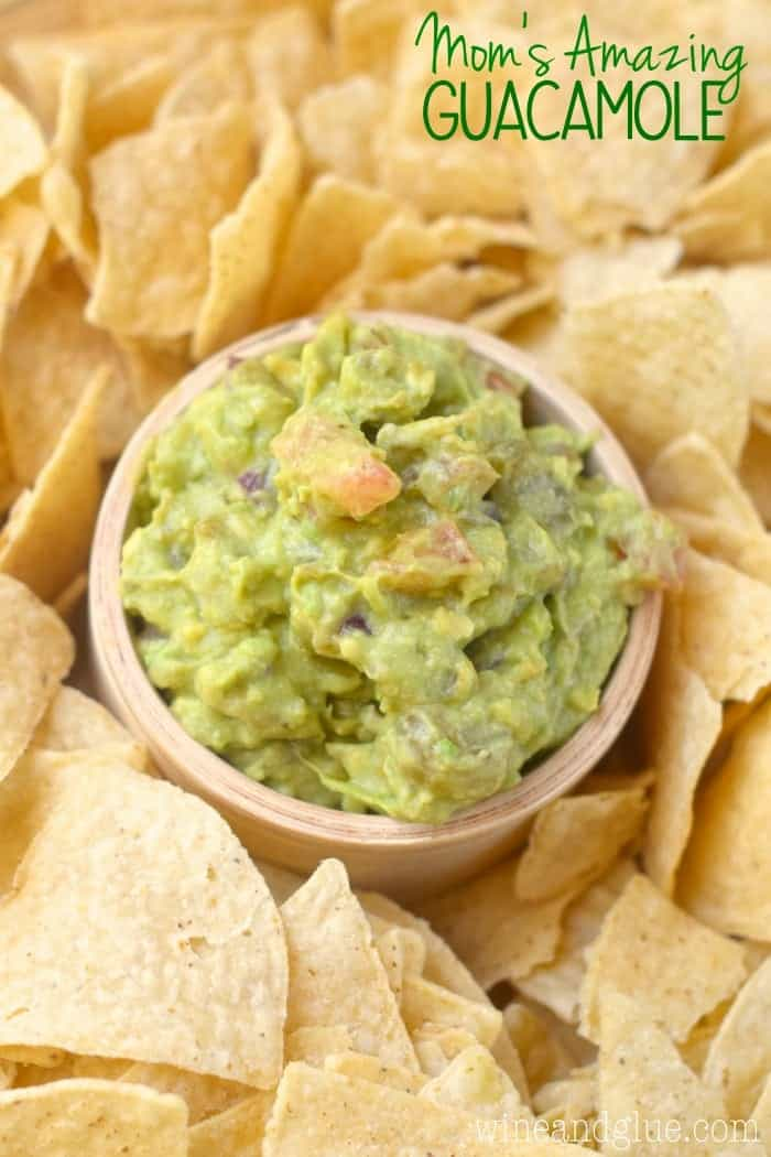 Mom's Amazing Guacamole