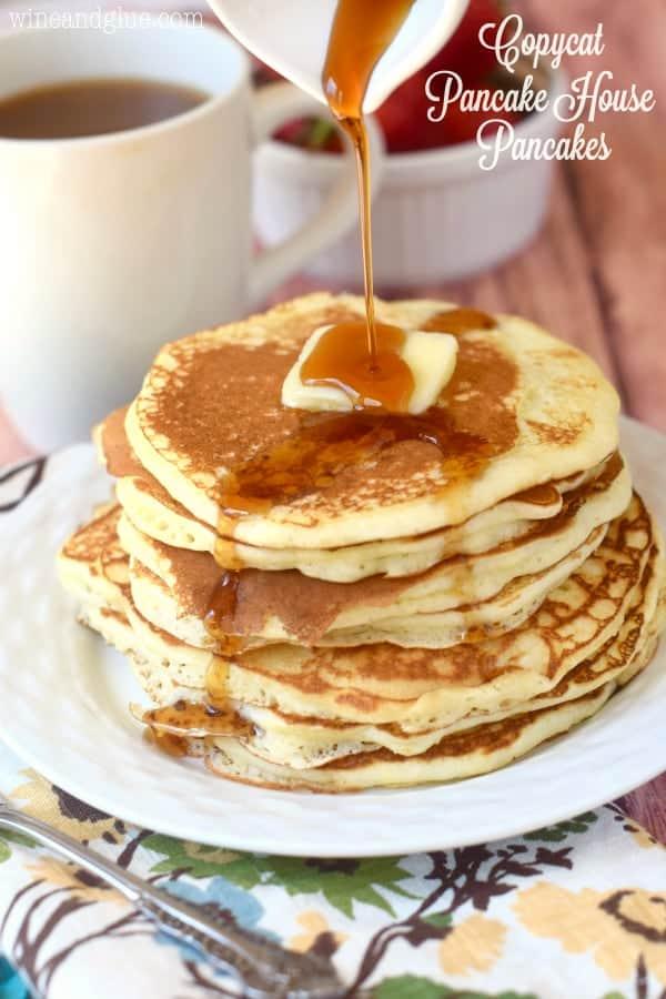 Copycat Pancake House Pancakes