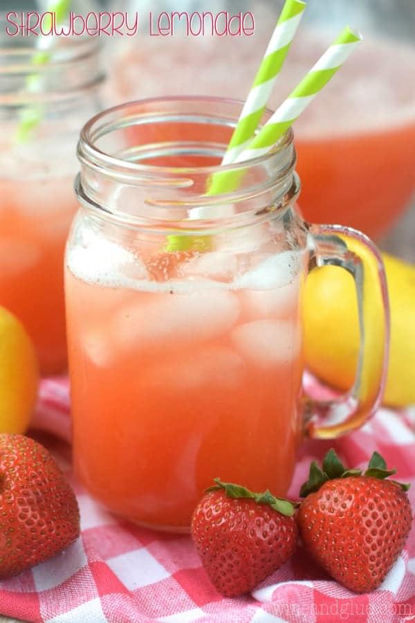 Strawberry Lemonade Wine Amp Glue