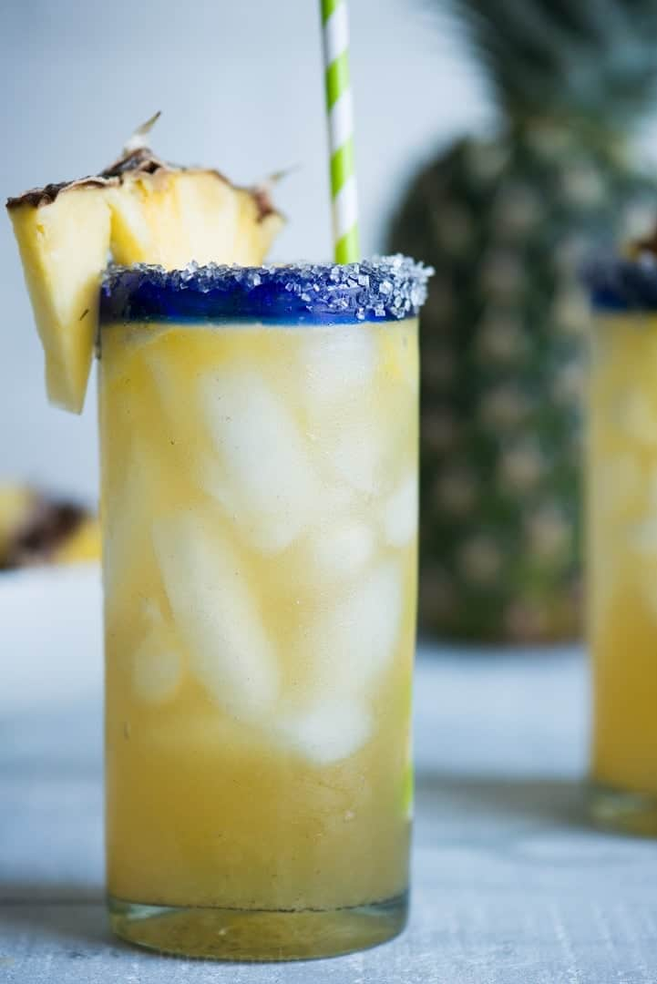 Vanilla Pineapple Margaritas