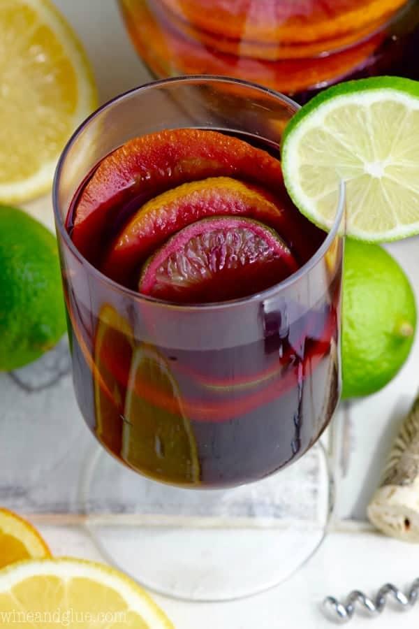 Red sangria recipe for Sangria recipe red wine triple sec
