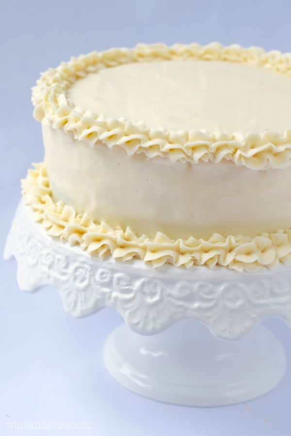 This is the BEST Vanilla Buttercream Frosting. Give it a try, you'll ...