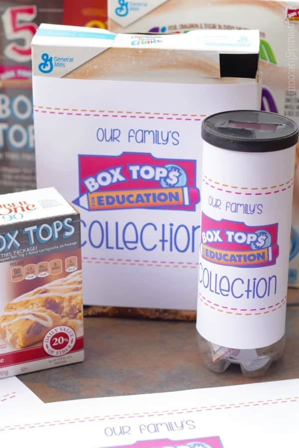 Box Tops Collection Printable