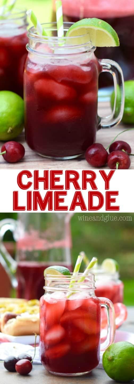 Cherry Limeade + Ball Park Park's Finest - Wine & Glue