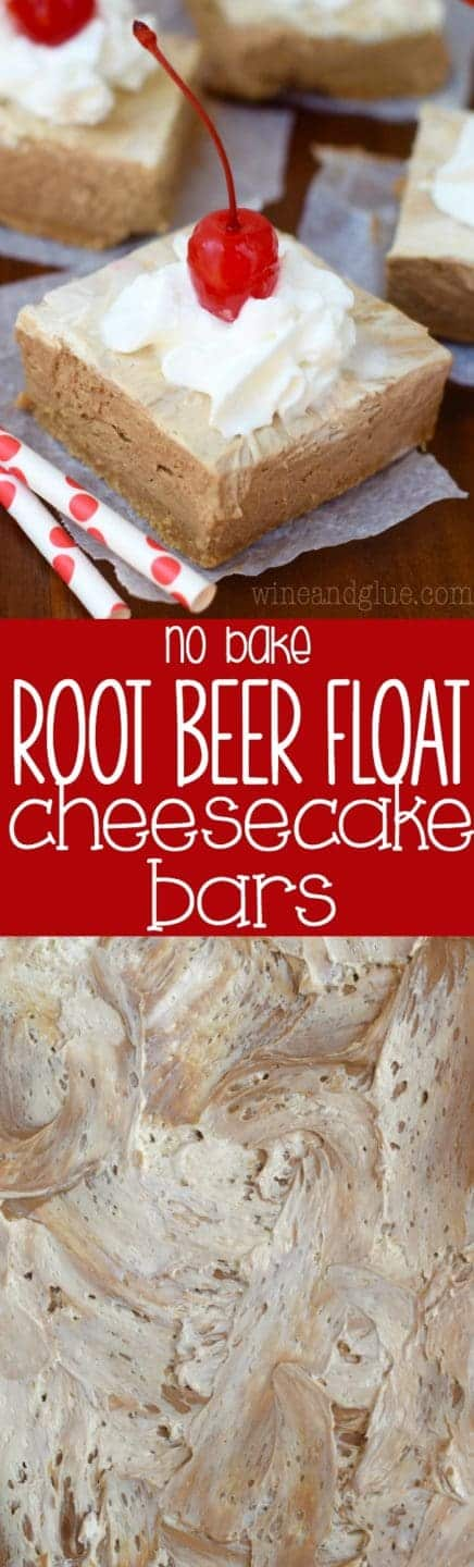 root_beer_float_no_bake_cheesecake_bars_long