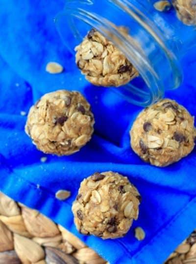 Five Ingredient No Bake Energy Bites + New Mom Survival Kit