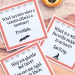 Halloween Lunch Box Jokes {PDF & Silhouette Files}