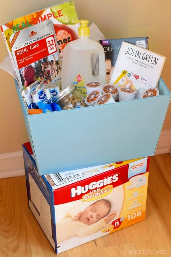 A Perfect New Mom Survival Kit!