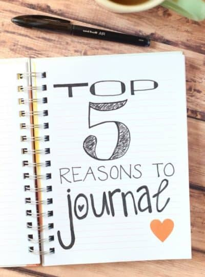 Top Five Reasons To Journal