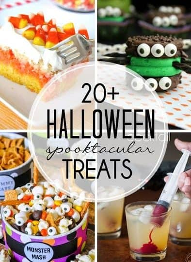 More than TWENTY Halloween Treats!