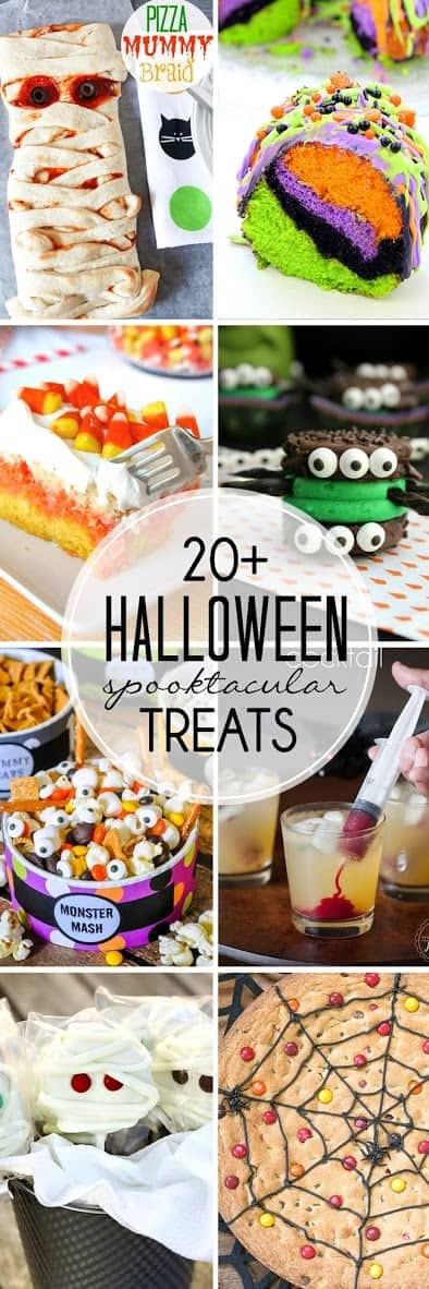 More than TWENTY Halloween Treats that are perfectly SPOOKTACULAR!