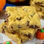 Pumpkin Brown Butter Cookie Bars