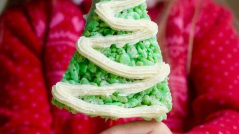 Rice Krispie Treats Christmas Tree.Rice Krispies Treats Christmas Trees