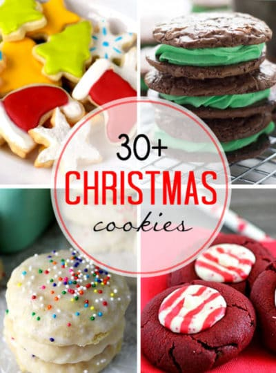 More than 30 Christmas Cookies