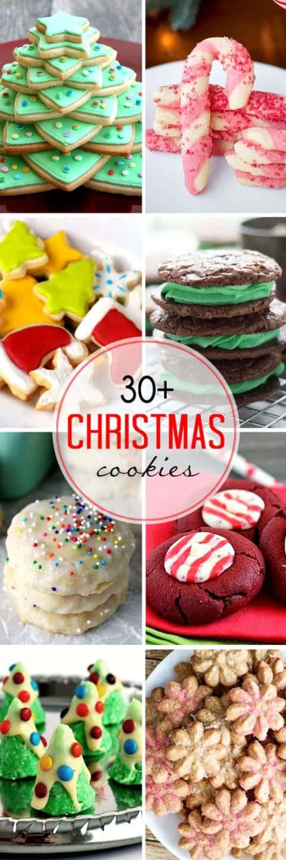 More than 30 Christmas Cookies