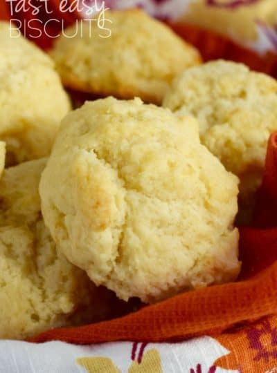 Fast Easy Biscuits